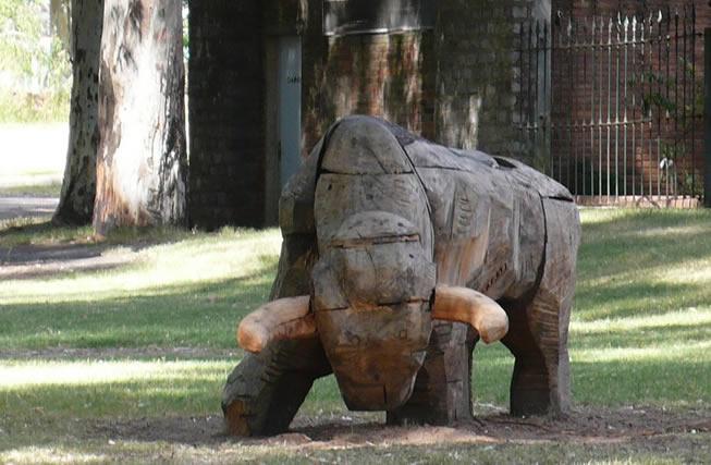 Escultura en Paysandú